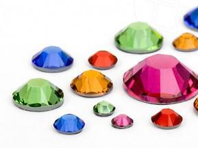 Swarovski® Wimpernkristalle #Rainbow Mix - 200 Stück