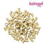 Eurolocks/Long Microrings - 100 Stück - blonde