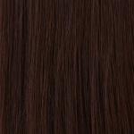 HAIROYAL Extensions glatt #2- Dunkelstes Braun