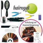 Hairoyal® Starterset inkl. Schulung, Wärmezange, 3 Poster und Zubehör