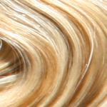 HAIROYAL® Extensions gewellt #140- bicolour - Natur-Hellblond/Goldblond gesträhnt