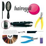 Hairoyal® Starterset inkl. Wärmezange und Zubehör