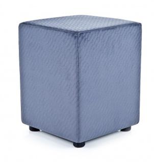Sitzwürfel blaugrau Retro exclusiv von Kaikoon