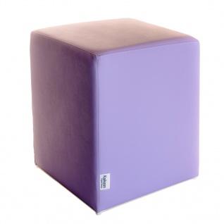 Sitzwürfel Flieder Maße: 35 cm x 35 cm x 42 cm