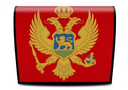 Cover für Koala-Bag Tasche Montenegrinischen Flagge