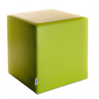 Sitzwürfel Hellgrün Maße: 43 cm x 43 cm x 48 cm