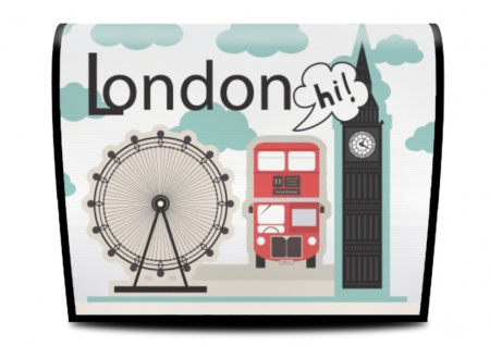 Cover für Koala-Bag Tasche London D4