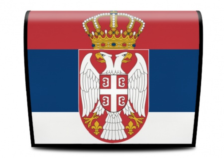 Cover für Koala-Bag Tasche Serbien Flagge