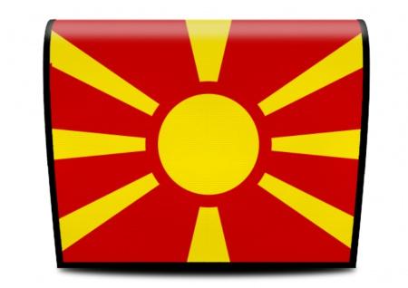 Cover für Koala-Bag Tasche Mazedonish Flagge
