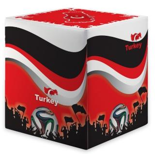 Sitzwürfel WM Türkei Turkey Maße: 35 cm x 35 cm x 42 cm