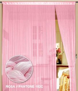 Fadenvorhang 090 cm x 240 cm (BxH) rosa