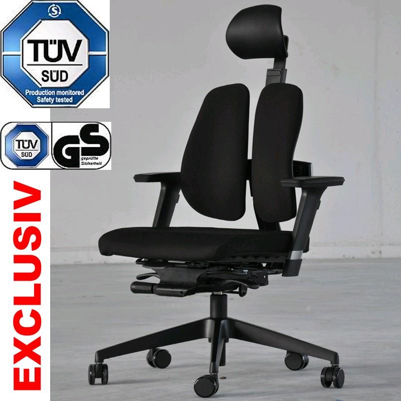 Ergonomischer bürostuhl preise  Duorest 30H Bürostuhl Drehstuhl ergonomisch gesunder Rücken ...