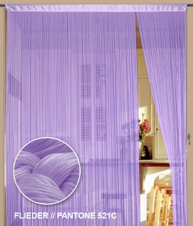 Fadenvorhang 090 cm x 240 cm (BxH) flieder