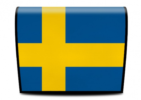 Cover für Koala-Bag Tasche Swedisch Flagge