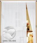 Fadenvorhang 200 cm x 300 cm (BxH) weiß