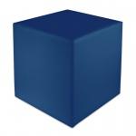 Sitzwürfel Blau Maße: 35 cm x 35 cm x 42 cm