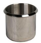 10 Stück Cup Holder aus Edelstahl 8cm