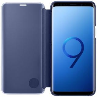 Samsung Flip Tasche Clear View EF-ZG960CLE für Galaxy S9 G960F Hülle Cover Blau - Vorschau 2