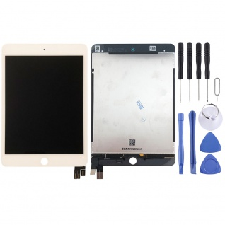Displayeinheit Display LCD Touch für Apple iPad Mini 5 7.9 Komplett Einheit Weiß