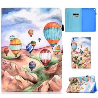 Für Samsung Galaxy Tab S6 Lite P610 Motiv 92 Tablet Tasche Kunst Leder Etuis Neu