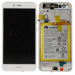 Huawei Display LCD Einheit Rahmen für P10 Lite Full Service Pack 02351FSC Weiß
