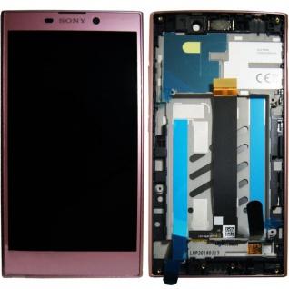 Sony Display LCD Komplett für Xperia L2 A/8CS-81030-0003 Reparatur Pink Ersatz