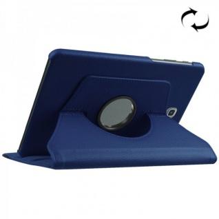 Schutzhülle 360 Grad Blau Tasche für Samsung Galaxy Tab S2 8.0 SM T710 T715N Neu