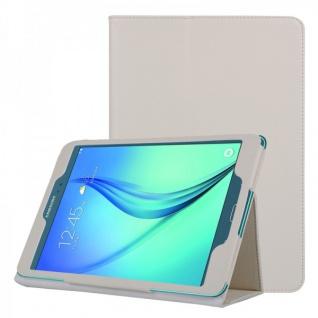 Schutzhülle Weiß Tasche für Samsung Galaxy Tab A 9.7 T555N T550 Hülle Case Etui