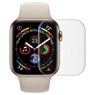 Für Apple Watch 4. & 5. Gen 40 mm TPU Folie Transparent Schutz Zubehör Soft