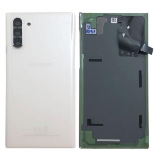 Samsung GH82-20528B Akkudeckel Deckel für Galaxy Note 10 N970F Aura Weiß Ersatz