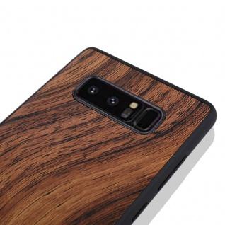 Hybridcase Holz-Optik Hell Hülle für Samsung Galaxy Note 8 N950 N950F Tasche Neu