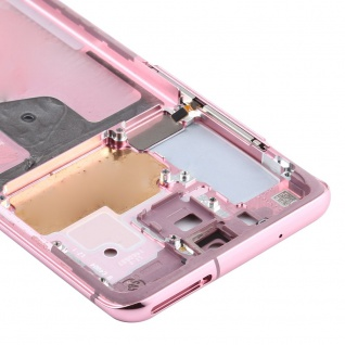 Mittelrahmen Samsung Galaxy S20 5G Pink Middle Frame Zubehör Ersatzteil - Vorschau 4