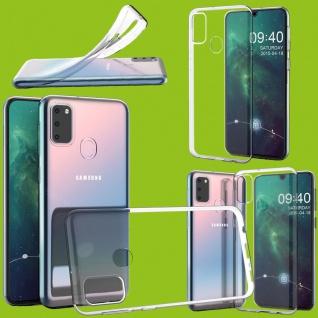 Für Samsung Galaxy M21 M215F Silikon TPU Transparent Handy Tasche Hülle Etuis