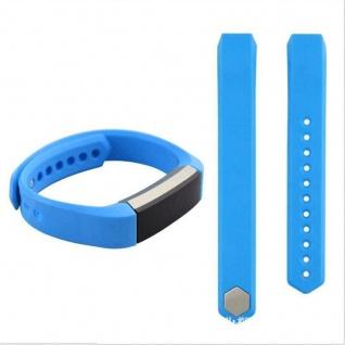 Für Fitbit Alta HR Kunststoff / Silikon Armband für Frauen / Größe S Himmel Blau