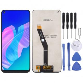Für Huawei P40 Lite E Reparatur Full Display LCD Einheit Touch Screen Schwarz