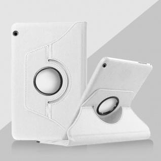 Für Huawei MediaPad M5 8.4 Tasche Hülle Case Cover Etui Schutz Weiß Schutz Neu