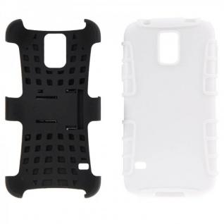 Hybrid Case 2 teilig Robot Weiss Cover Hülle für Samsung Galaxy S5 Mini G800 F - Vorschau 5