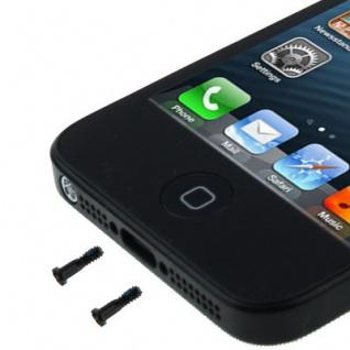 Pentalobe Torx Gehäuse Schrauben für Apple iPhone 5 5s Backcover 2 Stück Schwarz