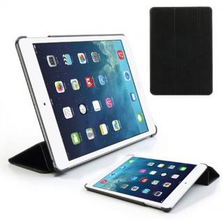 Smartcover Schwarz Case Etui für Apple iPad Air Case Hülle + Folie und Touchpen