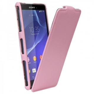 Exklusive Design Tasche für Sony Xperia Z3 Compact D5803 M55W Tasche Case rosa