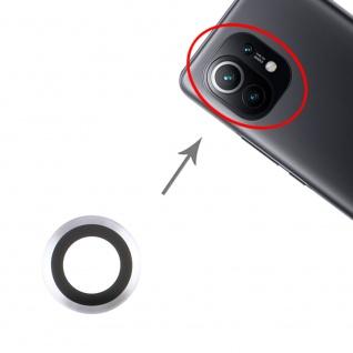 Kamera Linsen Abdeckung für Xiaomi Mi 11 Ersatzteil Reparatur Schwarz