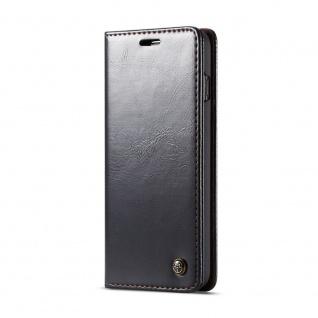 Schutzhülle Handy Tasche für Samsung Galaxy S10 Business Fächer Wallet Schwarz - Vorschau 4