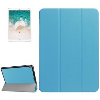 Smartcover Hellblau Cover Tasche für Apple iPad Pro 10.5 2017 Hülle Etui Case