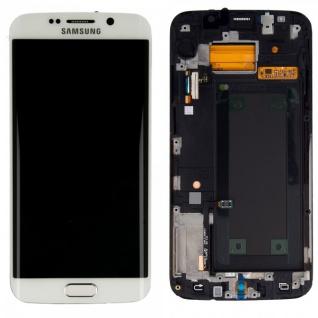 Display LCD Komplettset Touchscreen Weiss für Samsung Galaxy S6 Edge G920 G925F
