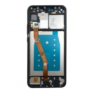 Für Huawei P Smart Plus Display Full LCD Touch mit Rahmen Reparatur Schwarz Neu - Vorschau 4