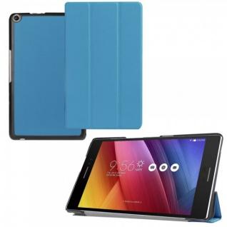 Smartcover Hellblau für ASUS ZenPad 8.0 Z380C Z380Kl Hülle Case Tasche Etui Neu