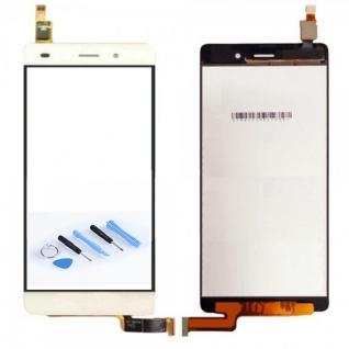 Ersatz Display LCD Komplett Einheit für Huawei Ascend P8 Lite Reparatur Weiß Neu