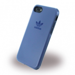 Adidas Originals Dual Layer Hard Case Cover für Apple iPhone 7 Schutzhülle Blau