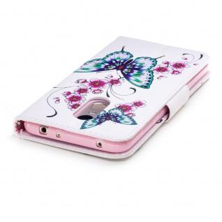 Für Samsung Galaxy A20e Kunstleder Tasche Book Motiv 31 Hülle Case Etuis Cover - Vorschau 5