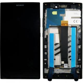 Sony Display LCD Komplett für Xperia L2 A/8CS-81030-0001 Reparatur Schwarz Neu
